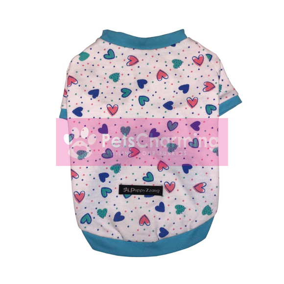 Multicoloured Heart Shirt
