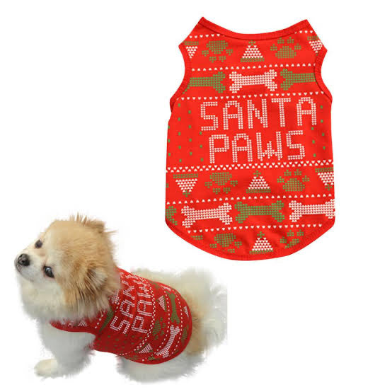 Santa Paws - Red Shirt