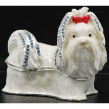 Shihtzu Trinket Box