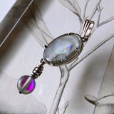 Pendant_DEW DROPS -Chloe(CLEAR GRAY)