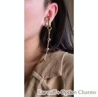 "EAR CUFF-IF-""C""(GOLD) 1pair(2個セット)"