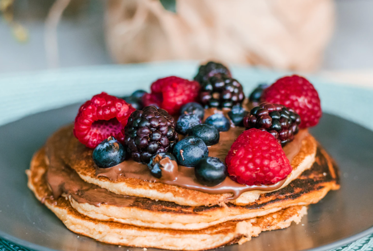 3 Ingredient Protein Pancakes Recipe