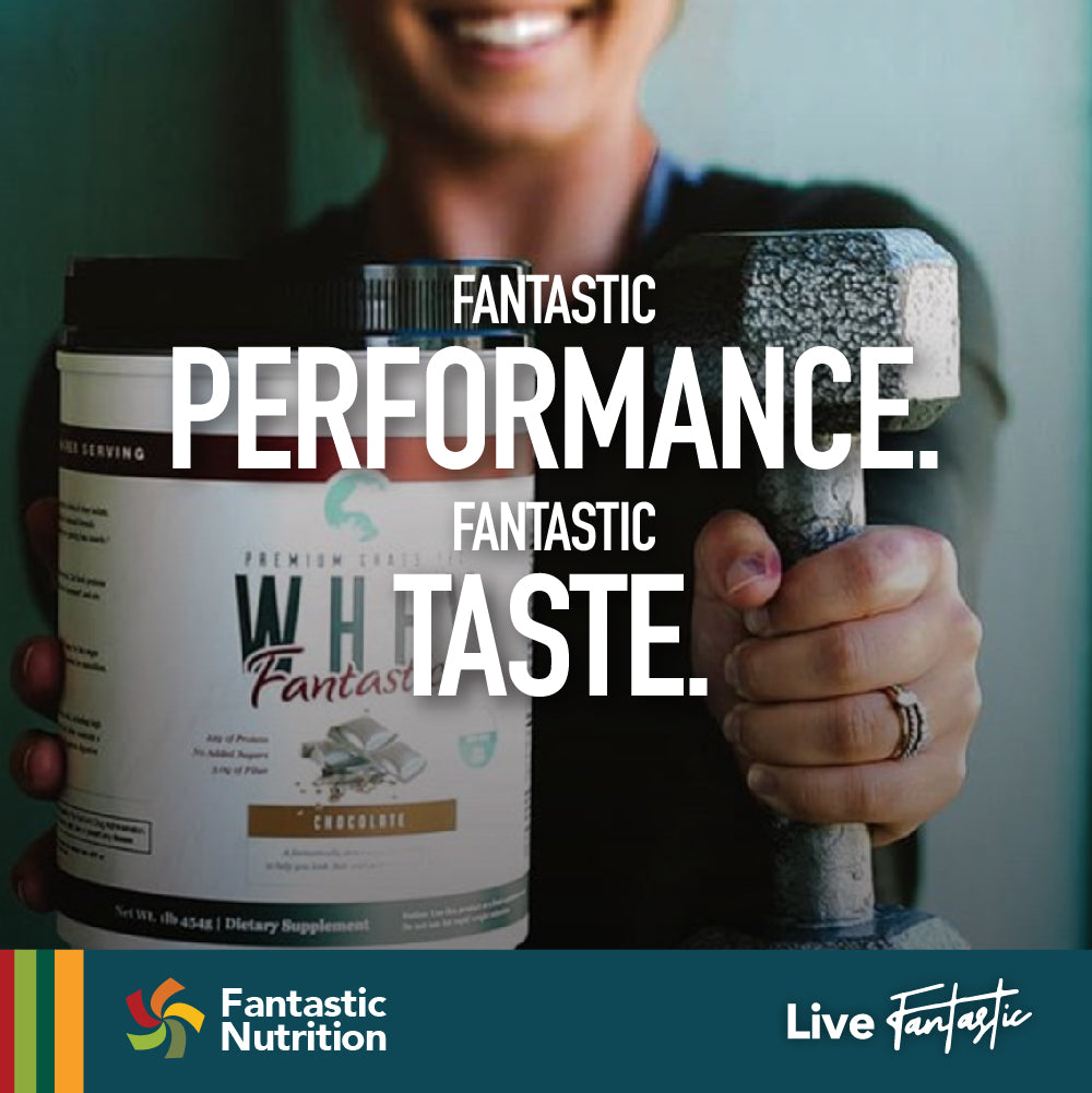Whey Fantastic Premium Grass Fed Whey Protein Blend