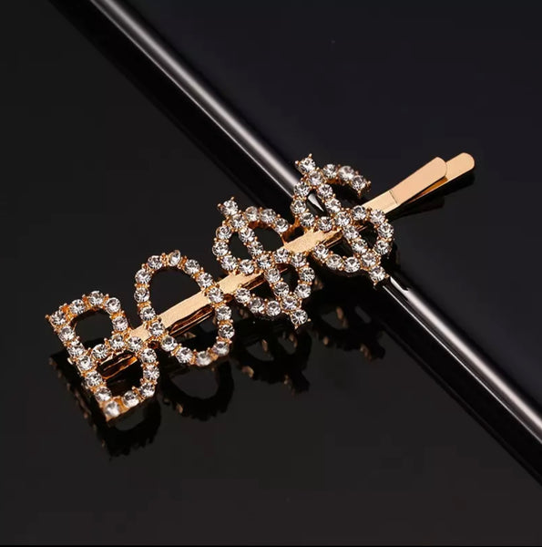 JEWELED HAIR PINS