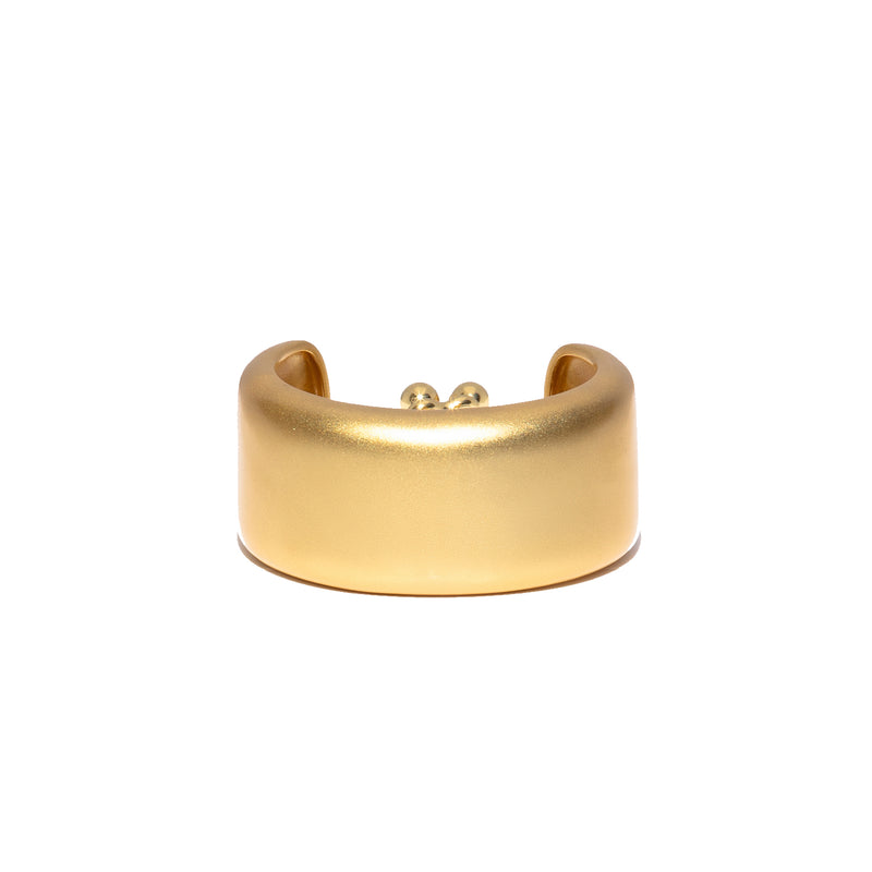 ZARUX - 20k Yellow Gold Vermeil Satin Bracelet