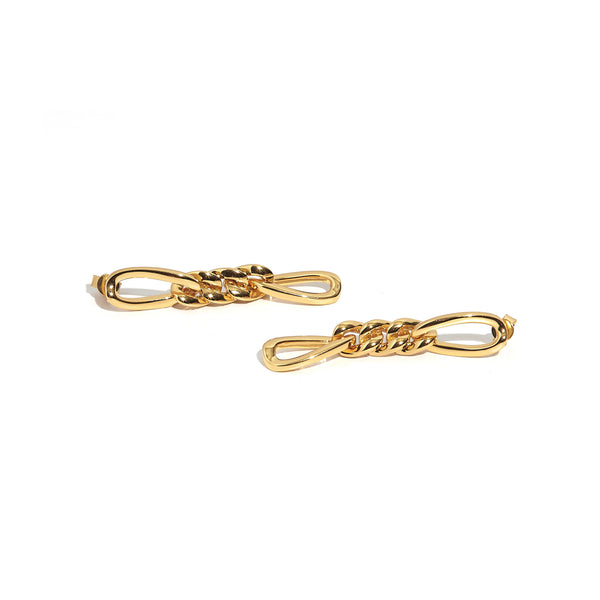 ZARUX - 20k Yellow Gold Vermeil Drop Earrings