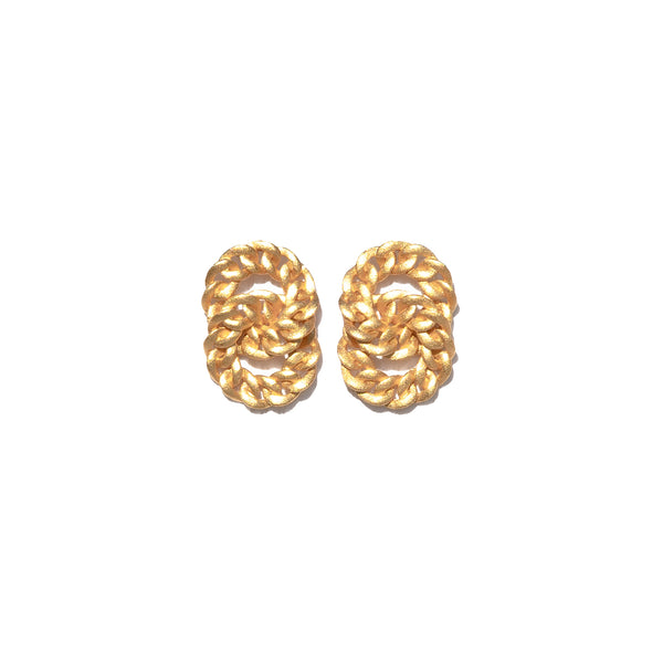 ZARUX - 20k Yellow Gold Vermeil Earrings