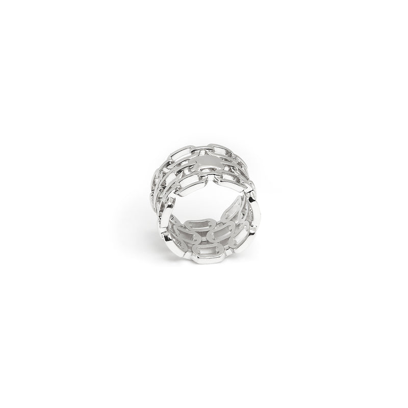 ZARUX - 18k White Gold Vermeil Ring