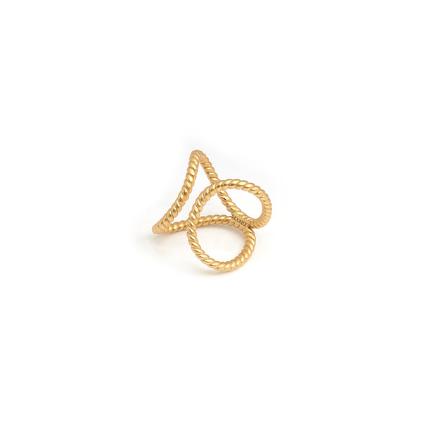 ZARUX - 20k Yellow Gold Vermeil Ring
