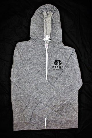 Sweatshirt with Zipper - SCDAA Logo (Gray)