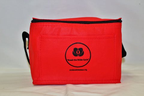 """Break the Sickle Cycle"" Lunch Bag (Red)"