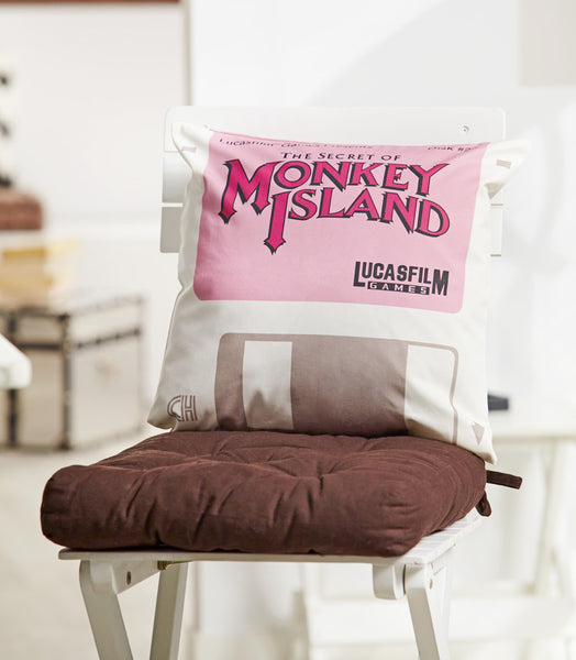 Monkey Island Disk #22 Floppy Pillow Cover