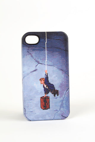Monkey Island II Guybrush case for Iphone 4/4s by Maya Pixelskaya