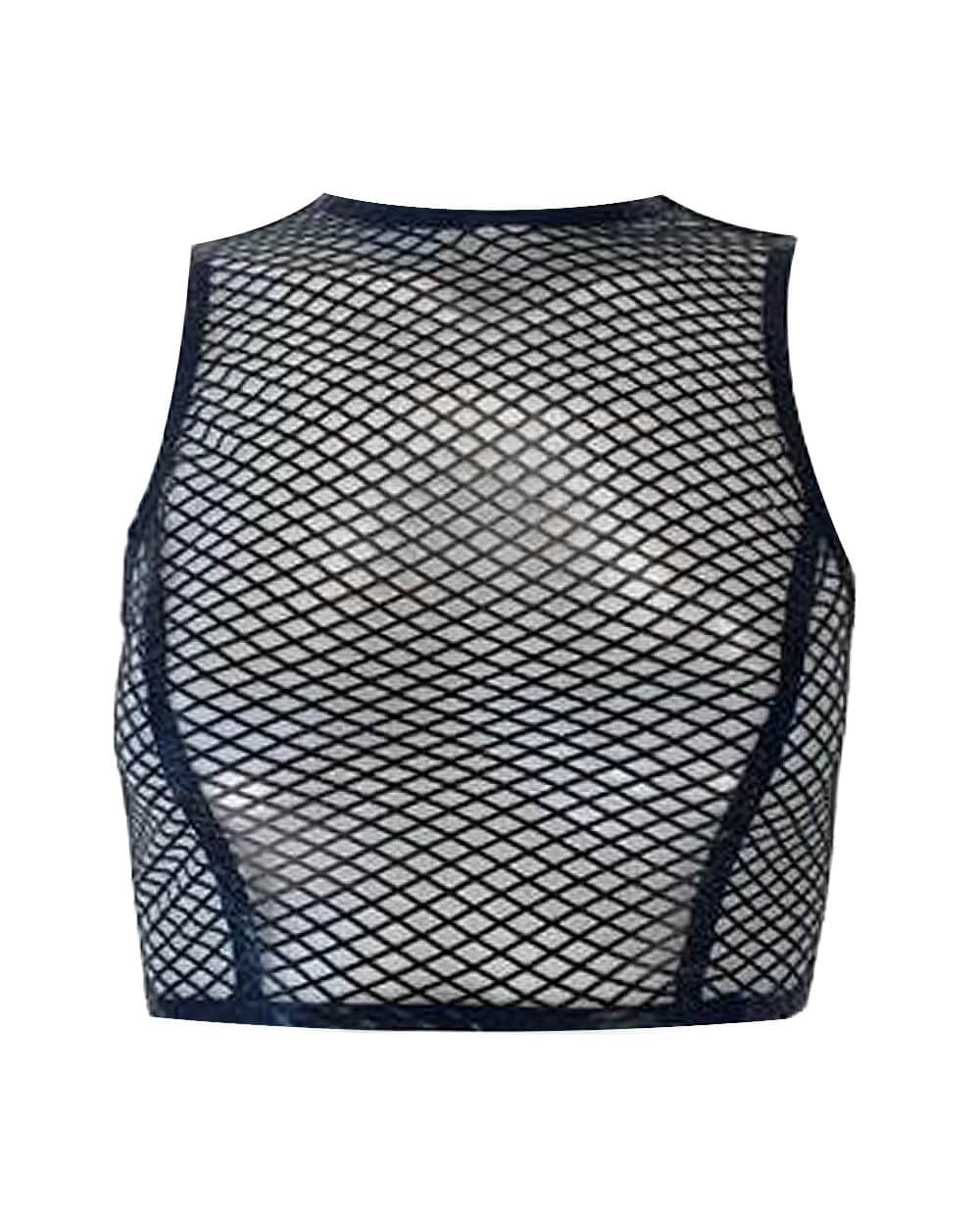Fishnet Crop Top  Womens - Vex Inc. | Latex Clothing