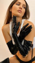Laced Opera Gloves