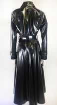 Madonna Trench Coat - Vex Inc. | Latex Clothing