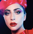 Lady Gaga latex beret