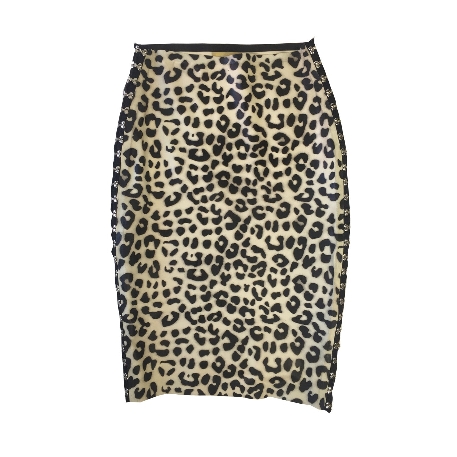 TNT Print Pencil Skirt - Vex Inc. | Latex Clothing
