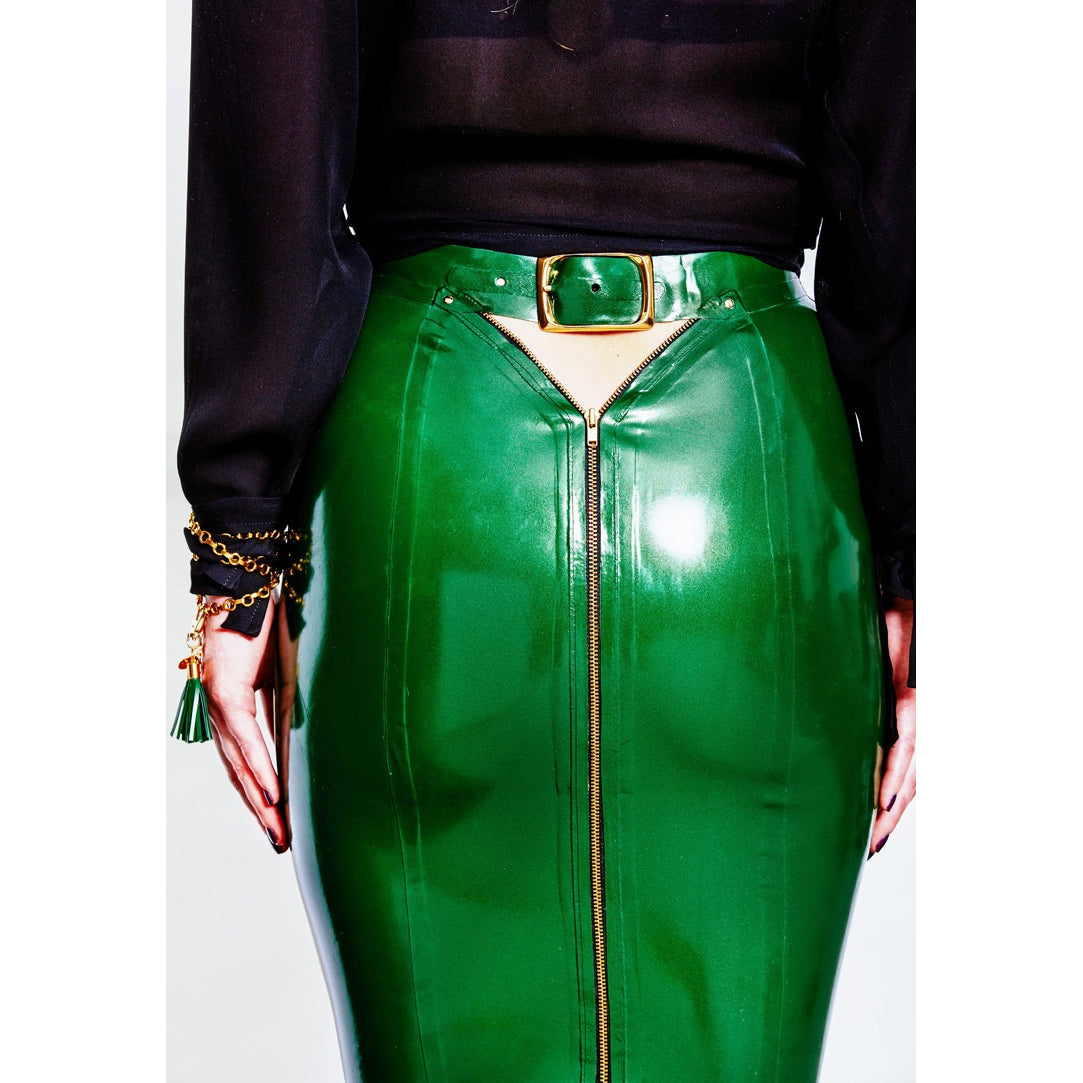 Peekaboo Pencil Skirt - Vex Inc. | Latex Clothing