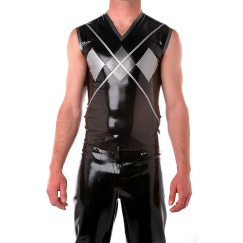 Mens Latex Tops