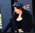 Bella Hadid Latex Beret - Vex Inc. | Latex Clothing