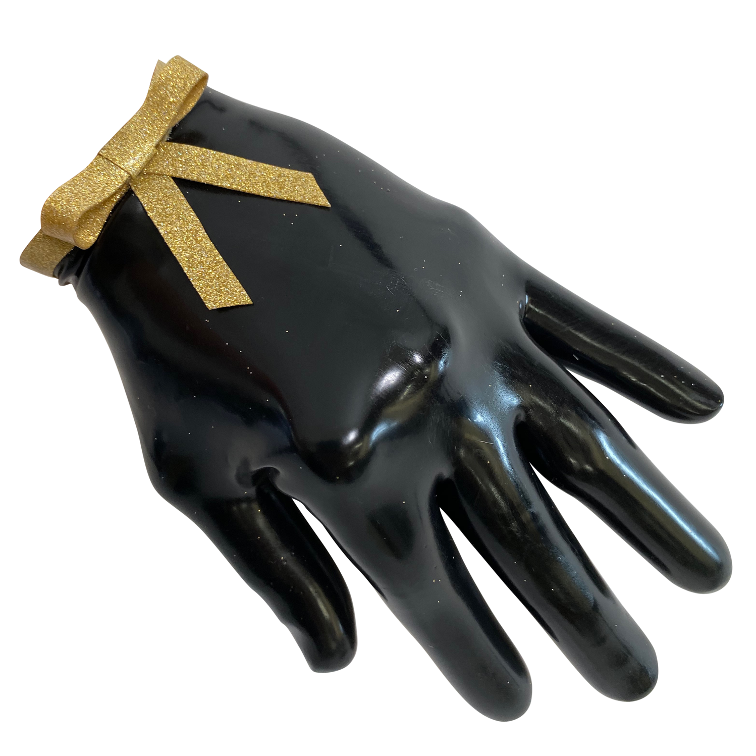 Bow Cropped Gloves  Womens - Vex Inc. | Latex Clothing