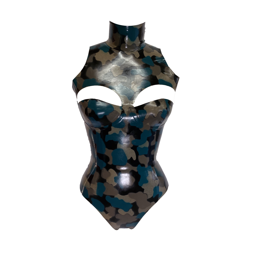 Print Divide Bodysuit  Womens - Vex Inc. | Latex Clothing