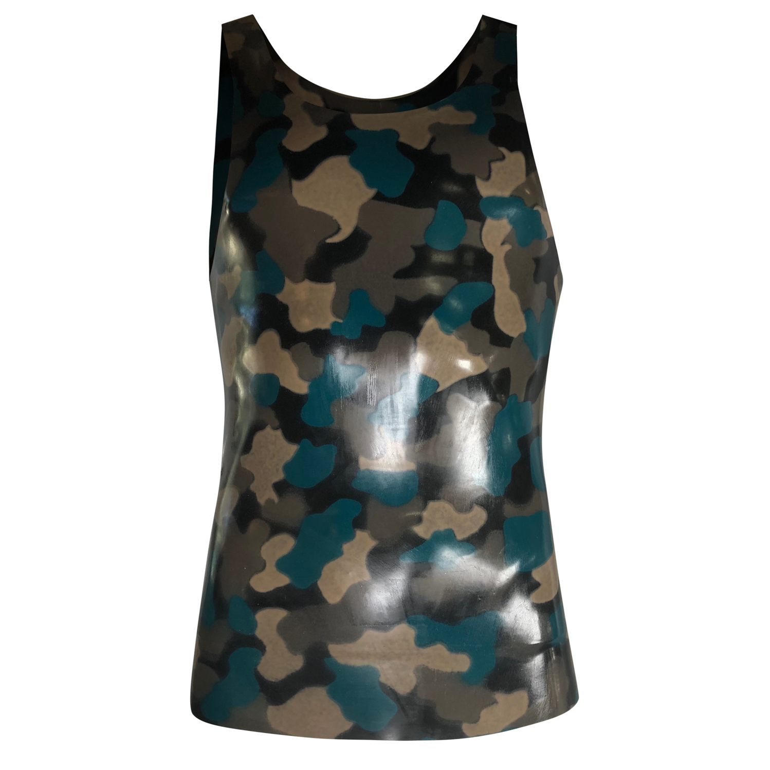 Print Tank  Mens - Vex Inc. | Latex Clothing