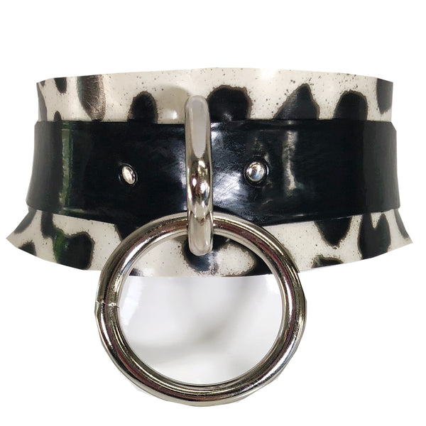 Print Ring Collar - Vex Inc. | Latex Clothing