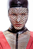 Fishnet Mask - Vex Inc. | Latex Clothing