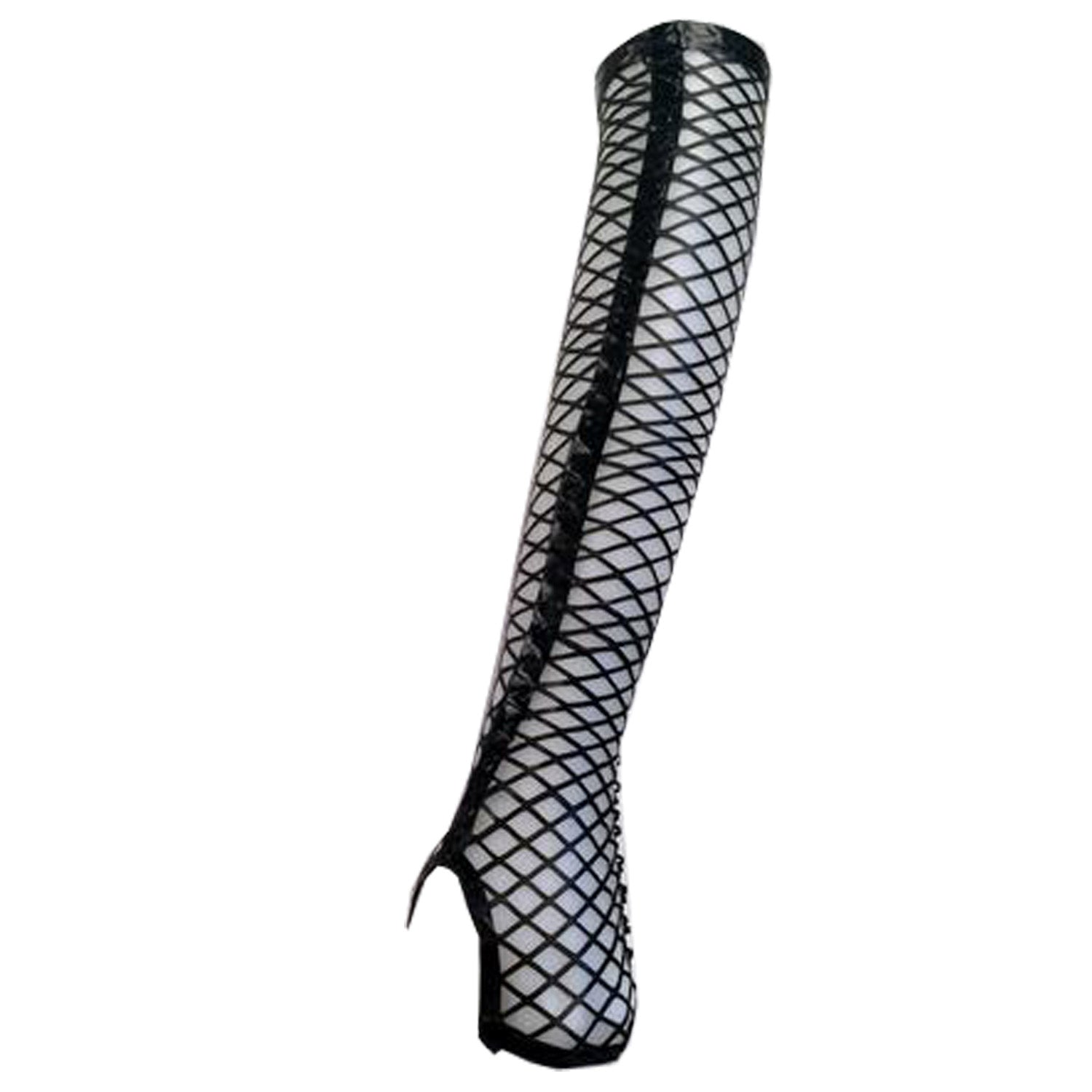 Fishnet Elbow Gloves - Vex Inc. | Latex Clothing