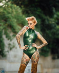 Halter Bodysuit - Vex Inc. | Latex Clothing