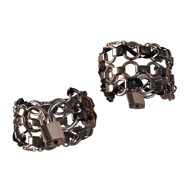 Interlock Wrist Cuffs