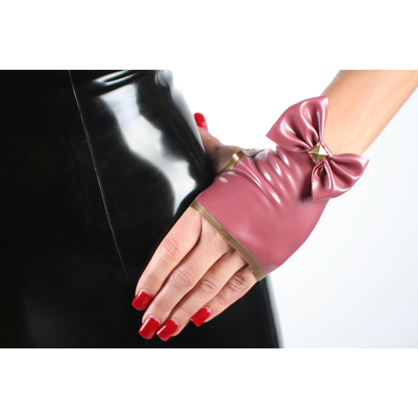 Bow Knuckle Gloves - Vex Inc. | Latex Clothing
