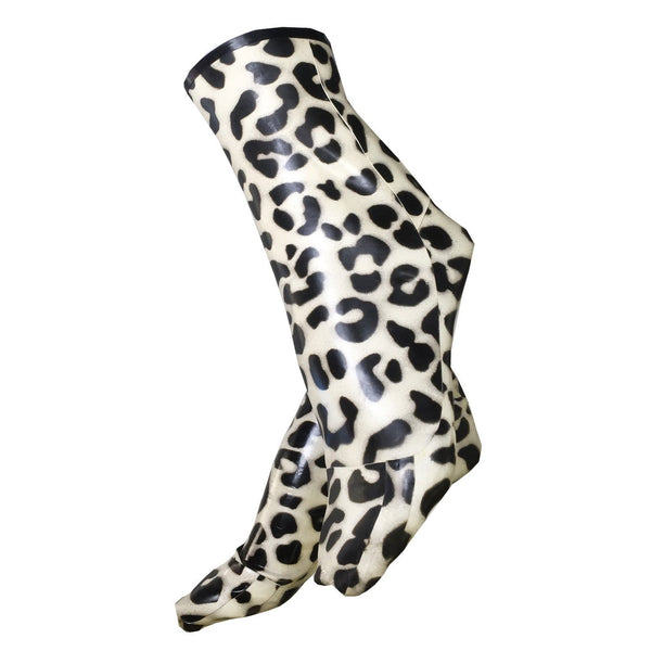 Leopard Socks - Vex Inc. | Latex Clothing