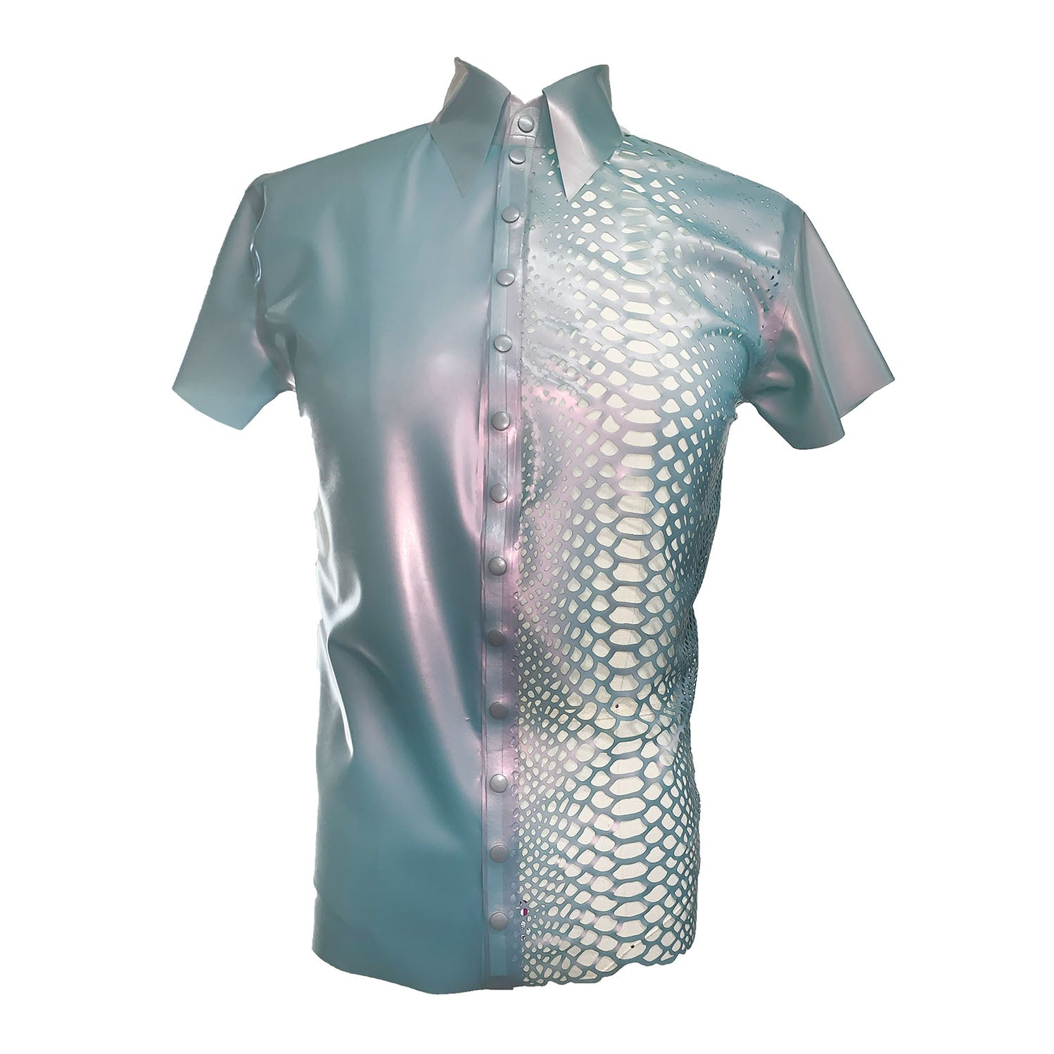 Python Shirt  mens - Vex Inc. | Latex Clothing