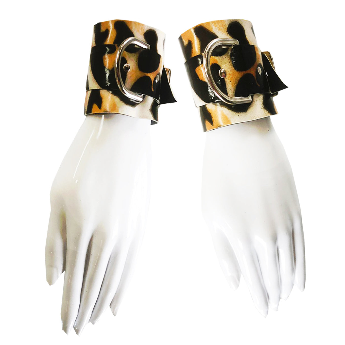 Print Wrist Cuffs - Vex Inc. | Latex Clothing