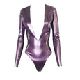 Plunge Bodysuit - Vex Inc. | Latex Clothing