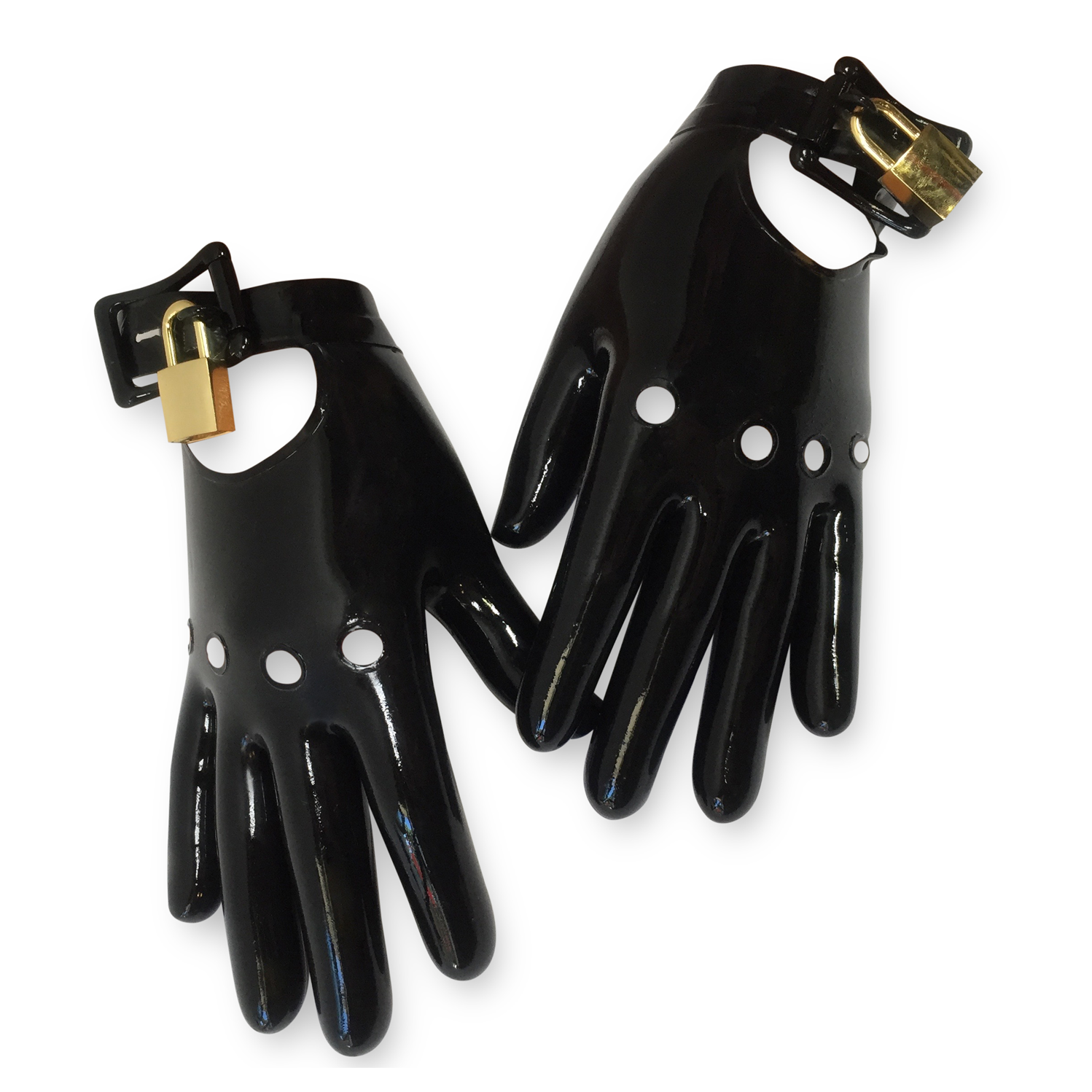 Moto Handcuff Gloves  Womens - Vex Inc. | Latex Clothing