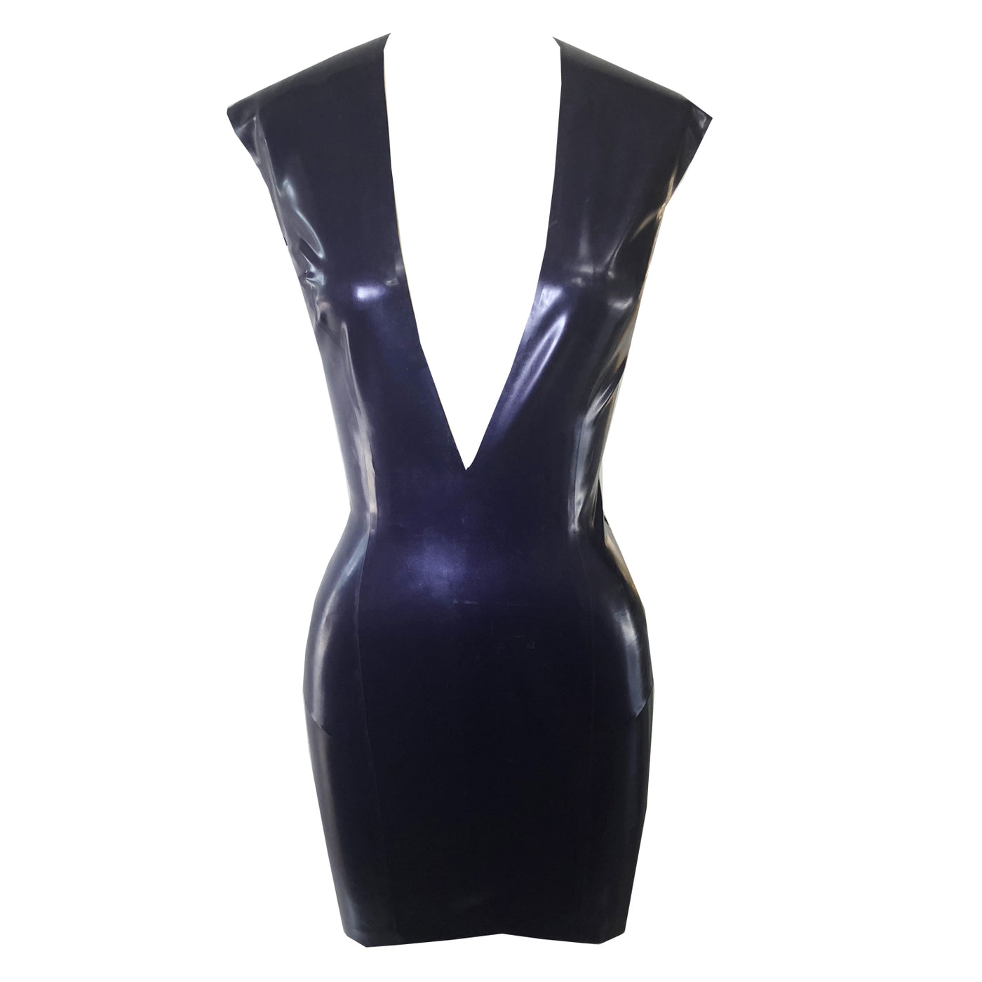 Mini Plunge Dress - Vex Inc. | Latex Clothing