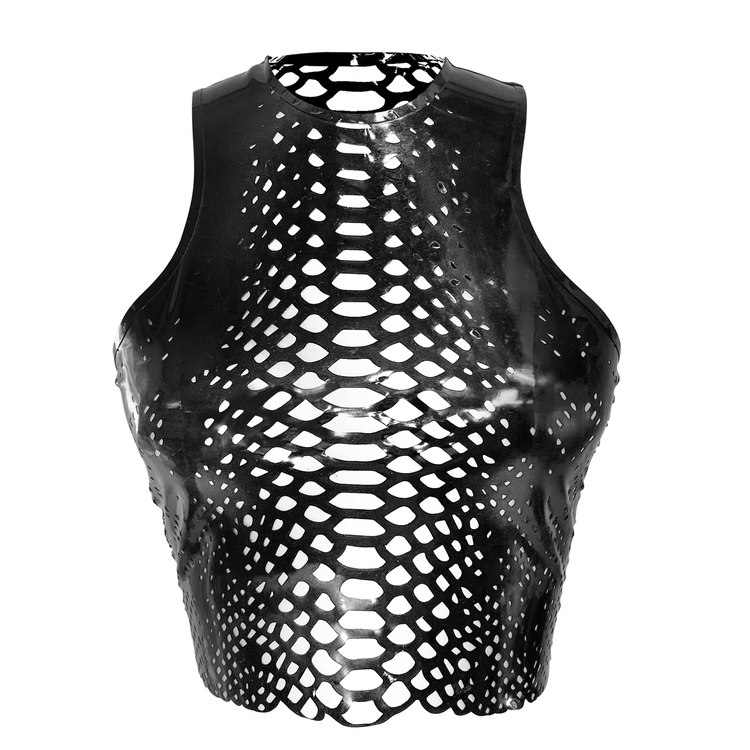 Python Crop   - Vex Inc. | Latex Clothing