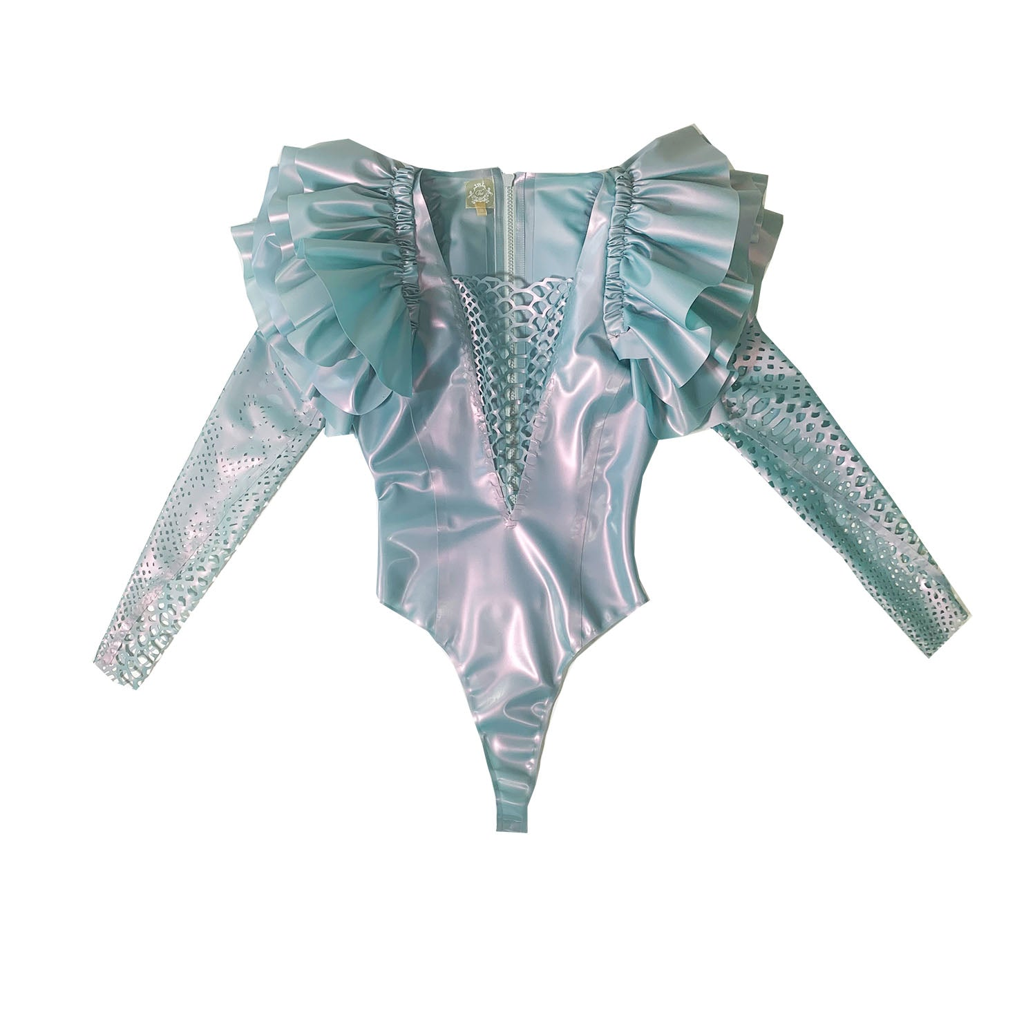 Flutter Bodysuit  Womens - Vex Inc. | Latex Clothing