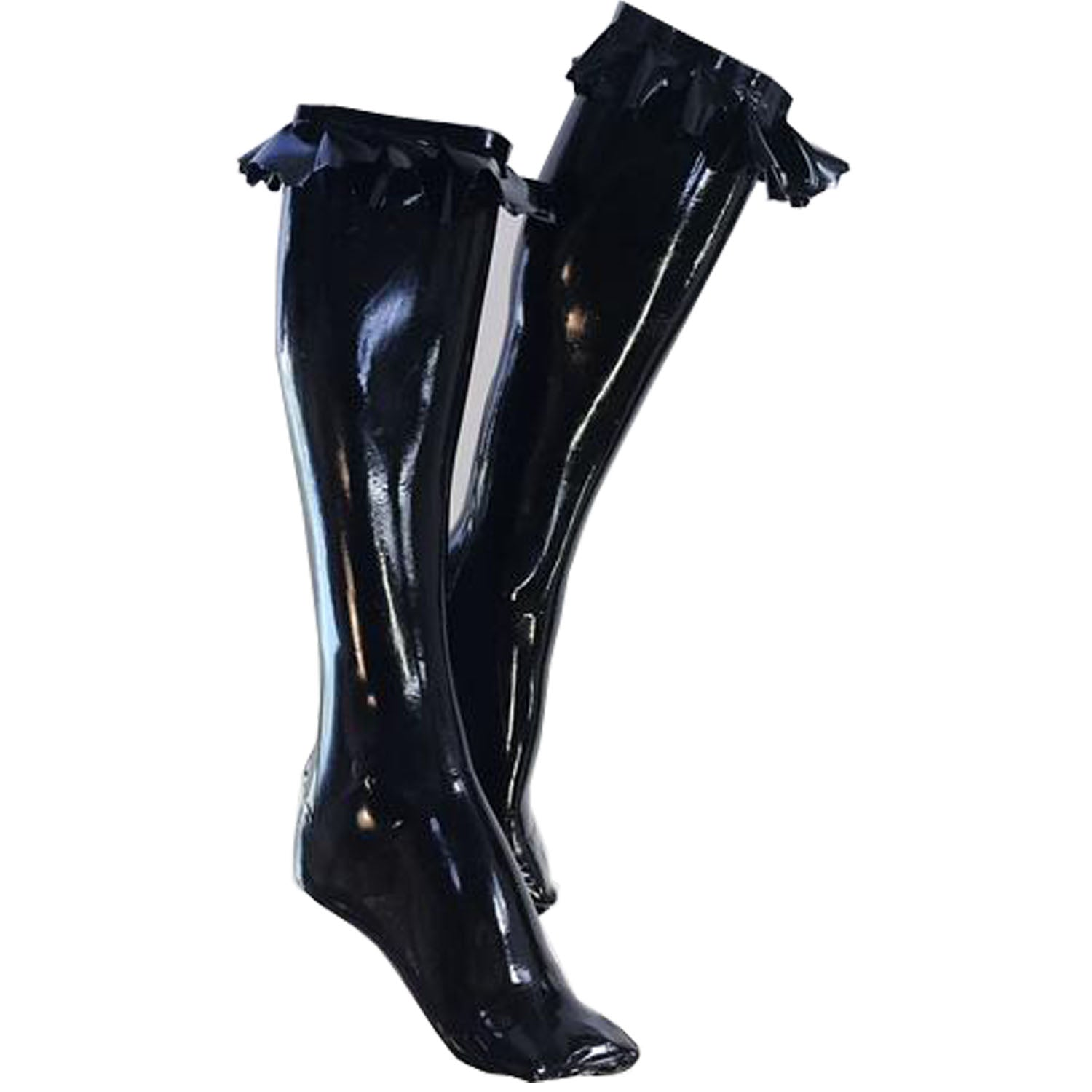 Ruffle Knee Socks  Womens - Vex Inc. | Latex Clothing