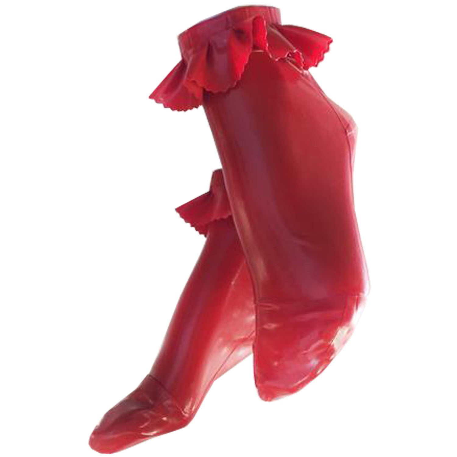 Ruffle Socks  Womens - Vex Inc. | Latex Clothing