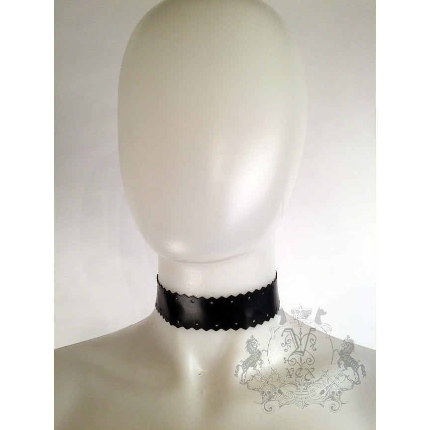 Scallop Choker - Vex Inc. | Latex Clothing