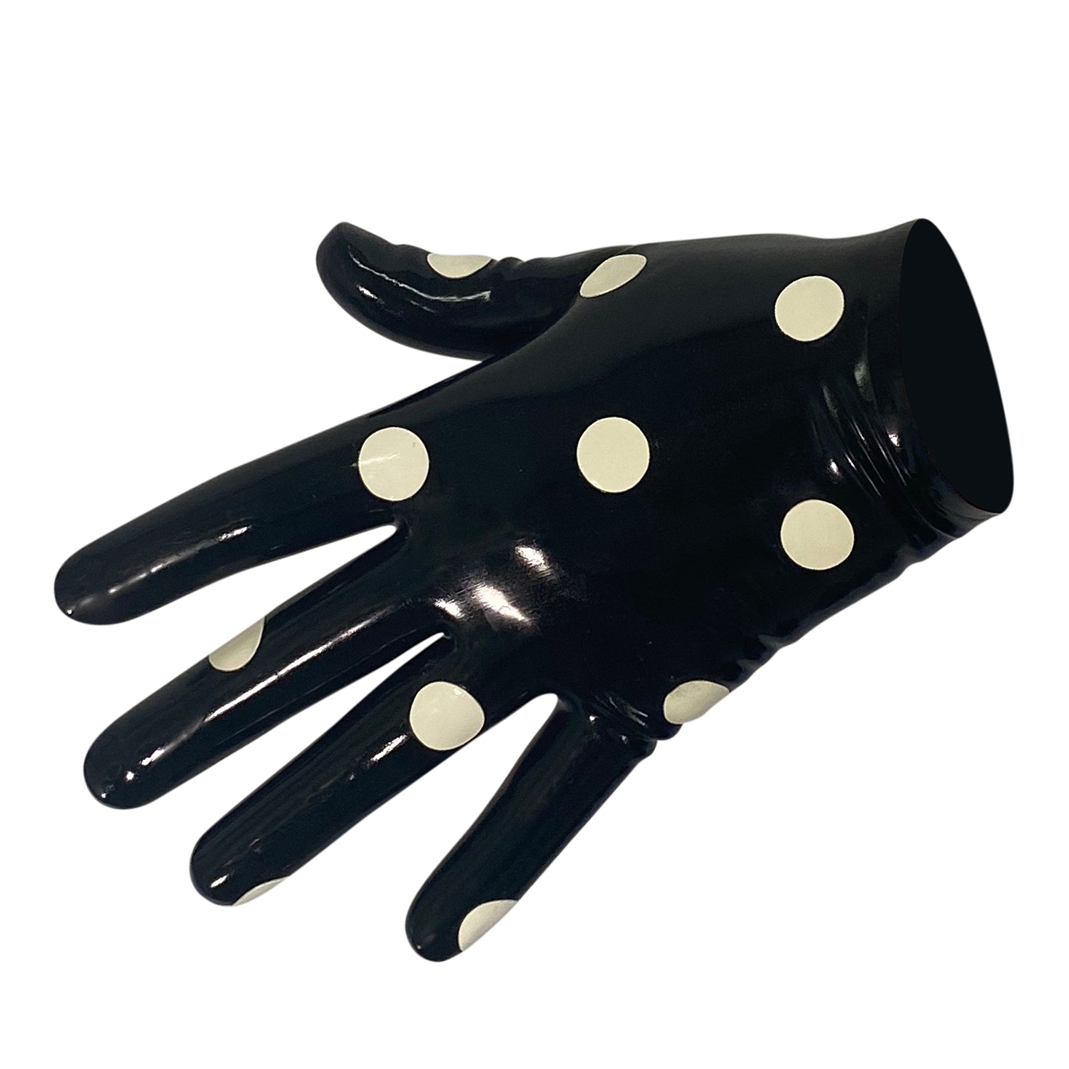 Spotted Glove  Womens - Vex Inc. | Latex Clothing
