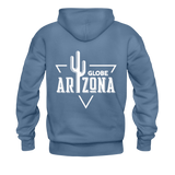 Men's Hoodie - denim blue