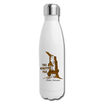 Insulated Stainless Steel Water Bottle - white