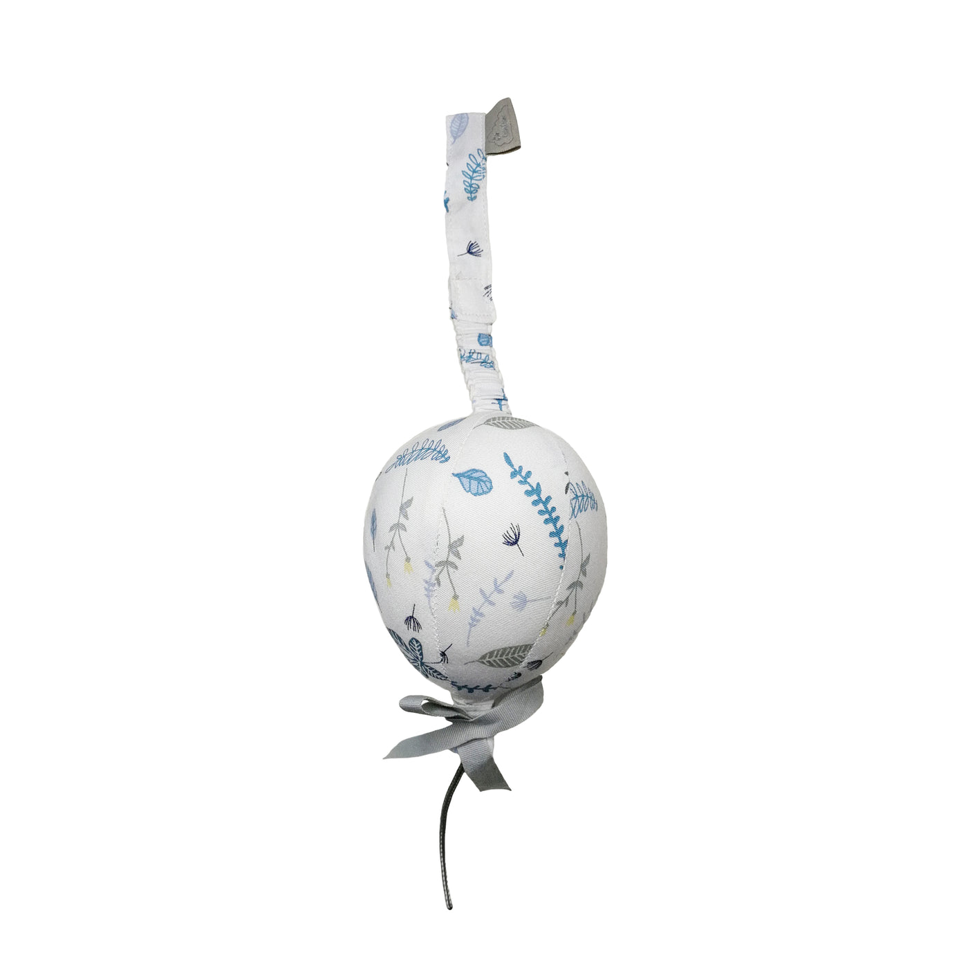 Play Gym Toy Balloon - Pressed Leaves Blue