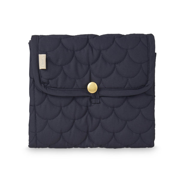 Quilted Changing Mat - Navy